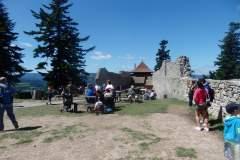 13. 7. 2017 Relaxační pobyt Šumava hrad Kašperk